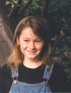 Miranda aged 8