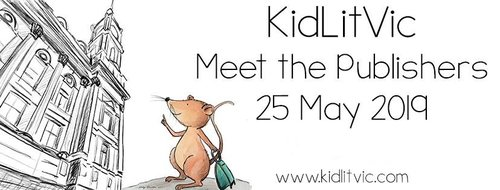 Image of mouse going to Melbourne Town Hall for KidLitVic by Nicky Johnston
